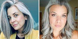 Никаких стереотипов: 20 потрясающих женщин отказались от покраски седины, и показали насколько это красиво (Новые фото)