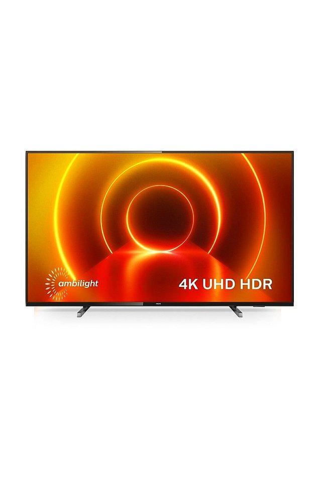 """6. Philips 75PUS7805 75"""" 190 Ekran Uydu Alıcılı 4K Ultra HD Smart LED TV TV-PUS7805"""