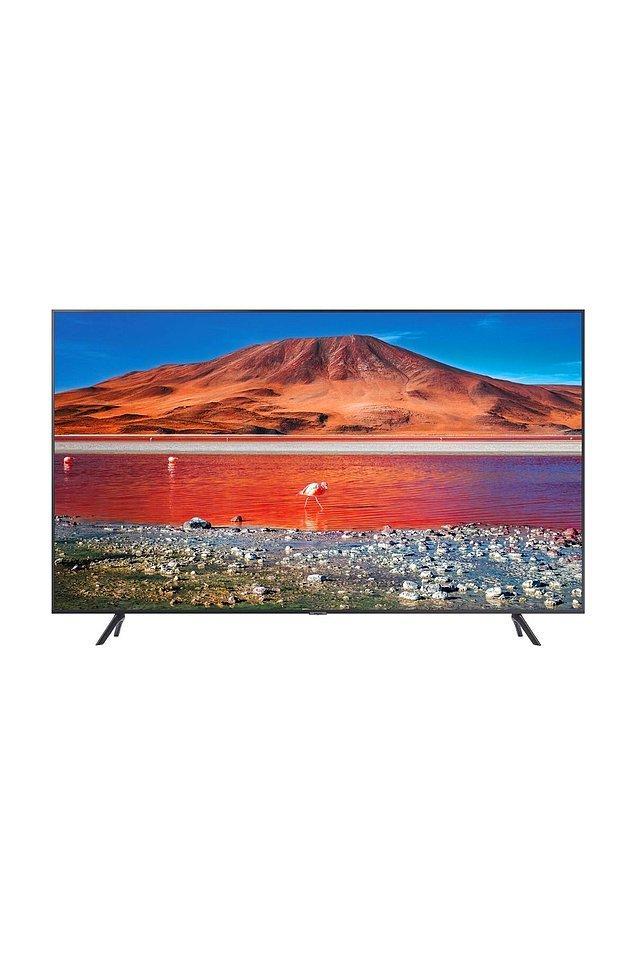 7. Samsung 75TU7100 75'' 190 Ekran Uydu Alıcılı 4K Ultra HD Smart LED TV TV-TU7100