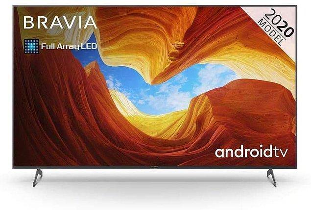 8. SONY KD55XH9096 139 EKRAN 4K UHD ANDROID OLED TV