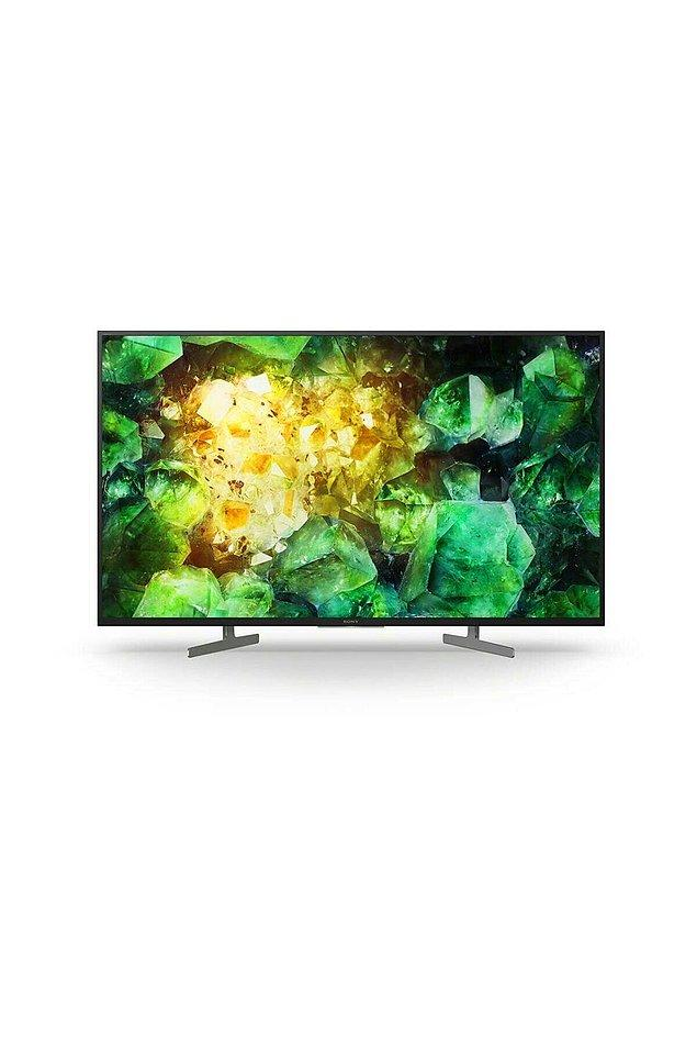 "11. Sony KD-55XH8196 55"" 139 Ekran Uydu Alıcılı 4K Ultra HD Smart LED TV TV-XH8196"