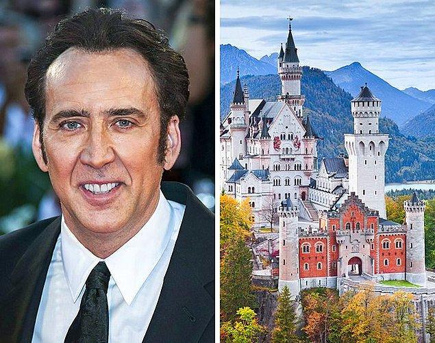 13. Nicolas Cage: Şato almak