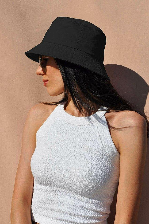 4. Uv korumalı bir şapka ile tüm gün güneşten korunabilirsiniz...