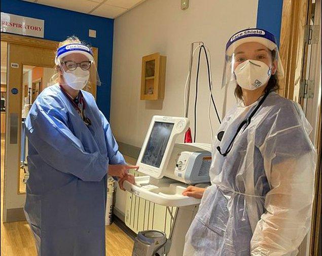 Matthew'un tedavisi sırasında yanında olan Bradford Hastanesi çalışanı uzman doktor Leanne Cheyne ise birkaç hafta önce sosyal medya hesabında adamın bir fotoğrafını paylaşmıştı.