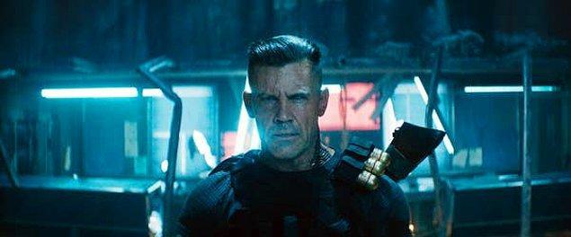 """9. Josh Brolin """"Deadpool 2"""" filminde Cable rolünü sadece para için oynadığını söyledi."""
