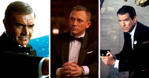 13. Sean Connery, Daniel Craig, and Pierce Brosnan anlaşılan James Bond karakterini oynamaktan çok keyif alamamışlar.