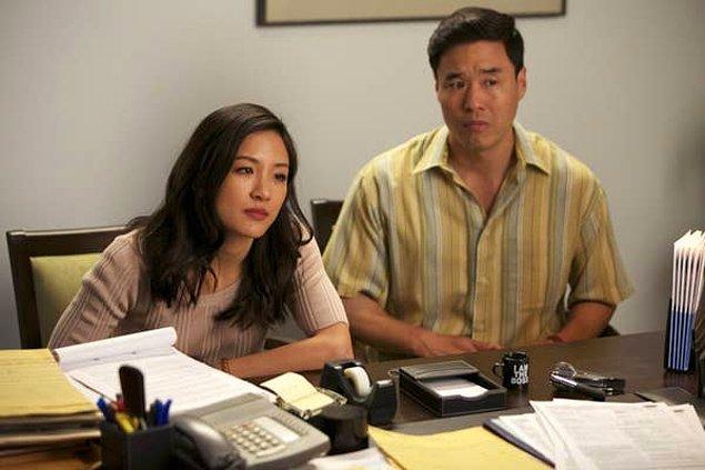 "18. Constance Wu ""Fresh Off the Boat"" dizisine tepkisini Twitter üzerinden koydu."