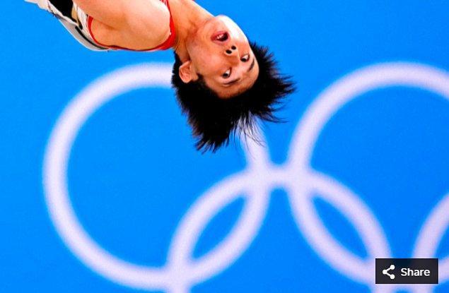 29. 24 Temmuz 2021'de Kazuma Kaya (JPN), Ariake Jimnastik Merkezi'ndeki Tokyo 2020 Olimpiyat Oyunları sırasında Erkekler Jimnastik yeterlilik yarışmasında.