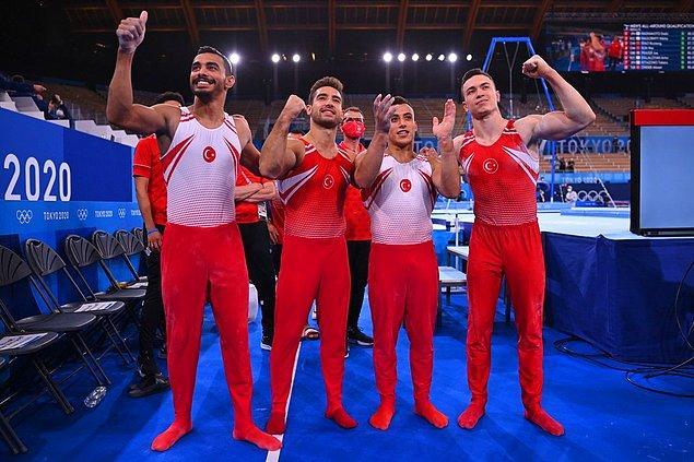 2020 Tokyo Olimpiyat Oyunlarının ilk gününde artistik jimnastikte mücadele eden Türk sporcular Adem Asil, Ahmet Önder, Ferhat Arıcan ve İbrahim Çolak finale yükseldi.