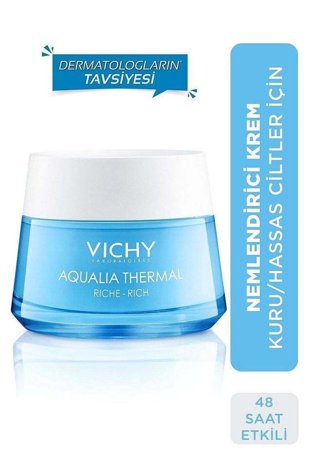 9. Vichy Aqualia Thermal gece bakım kremi