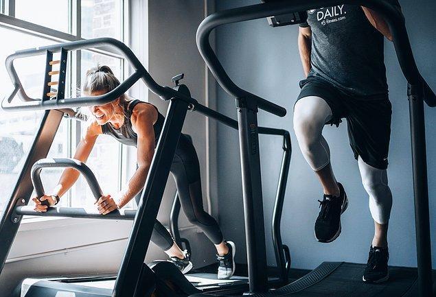 3. Koşu bantları kilo verme sürecinde oldukça etkili.