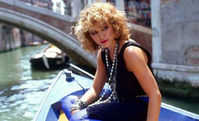 17. Madonna da pek çok isim gibi çıkış şarkısını sevmeyenlerden.