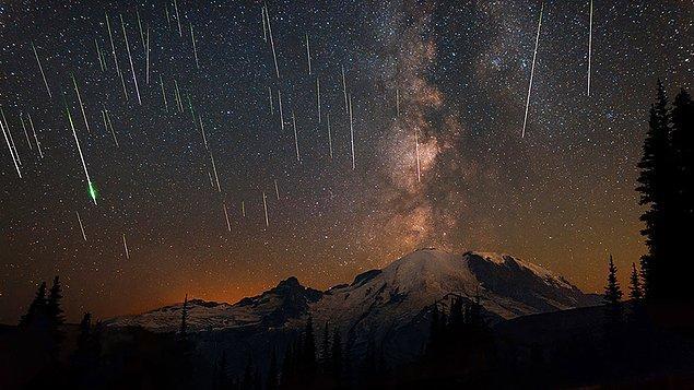 Biz gökyüzüne bakıp bir yıldızın hızlıca kaydığını gördüğümüzde hızla dilek tutsak da aslında yıldız kayması diye bir şey yoktur.