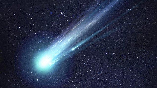 Yeryüzüne doğru inen meteorların büyük çoğunluğu hız kazanır ve yanmaya başlar. Yani yok olur.