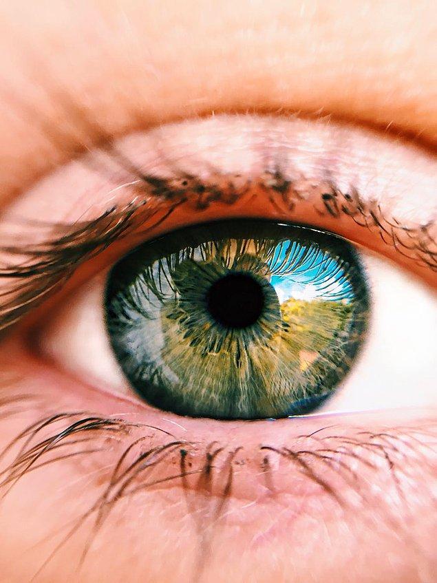 12. Gözler ve dil şişer.