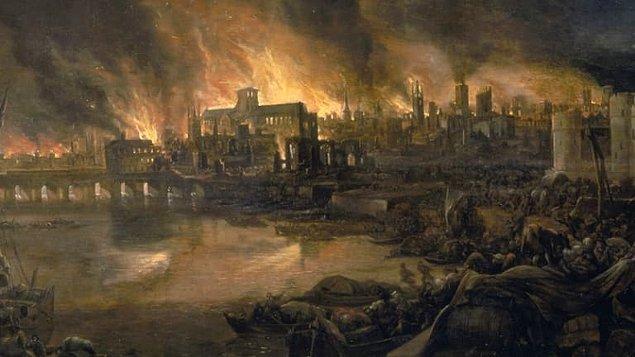 1966 Büyük Londra Yangını