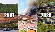 2007'de Yanan Alana İnşa Edilmişti: Alevler Bodrum'daki O Oteli Sardı