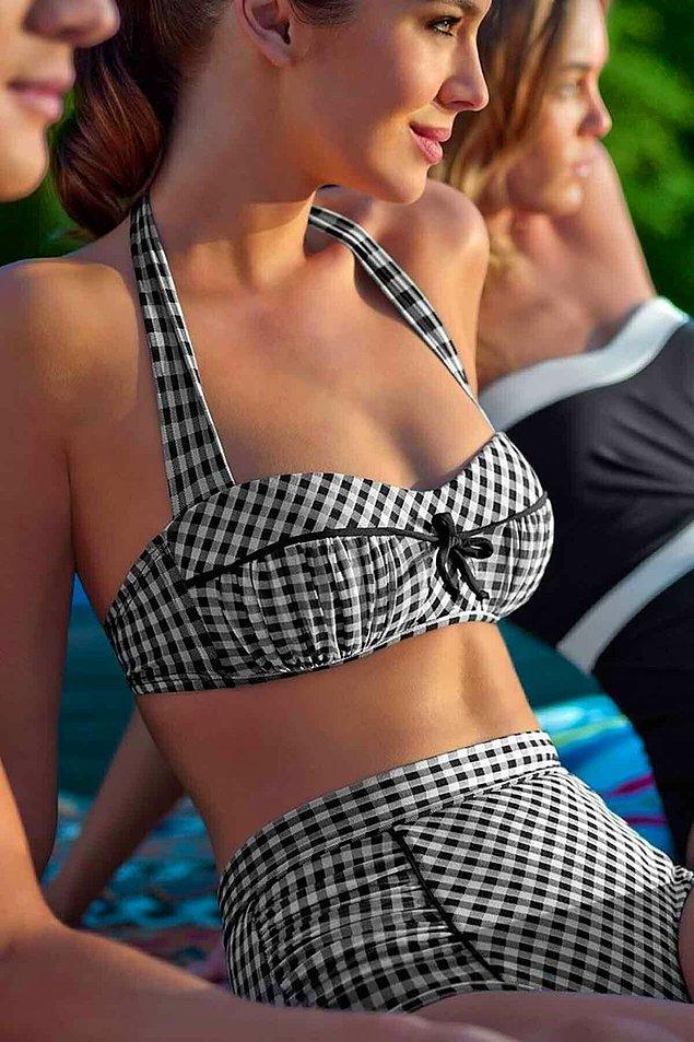 9. Vintage model bir bikiniye ne dersiniz?