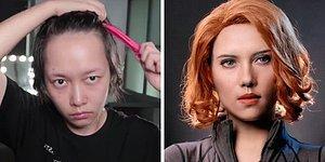 15 невероятных перевоплощений девушки из Китая, которая благодаря макияжу может превратиться в любого персонажа