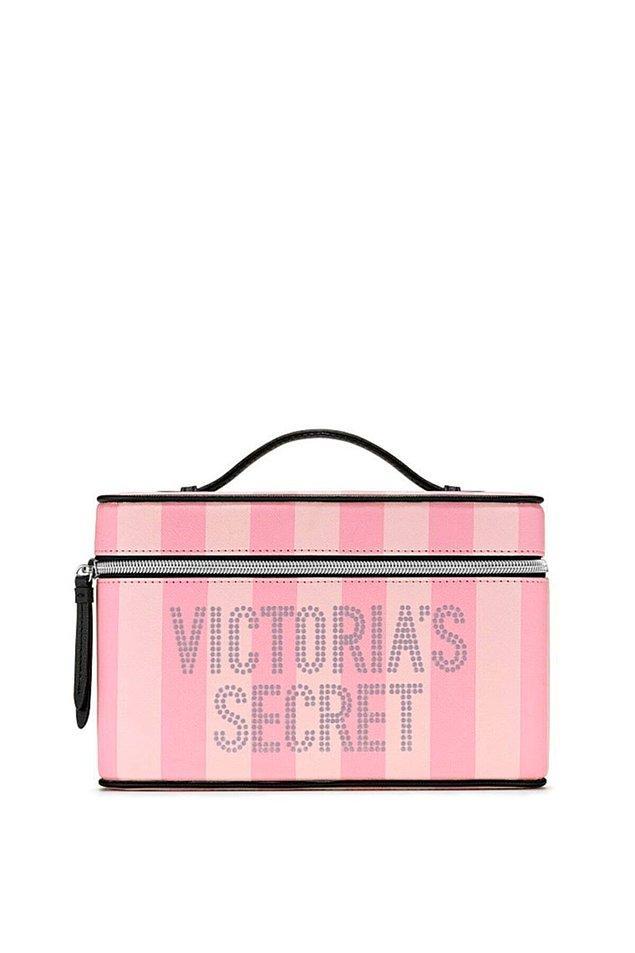 17. Victoria's Secret marka makyaj çantası şu anda indirimde, 999 TL yerine 589 TL!