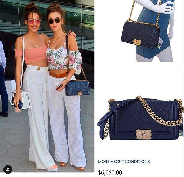 15. Bensu Soral'ın bu minik ama trend çantası 6 bin dolar.