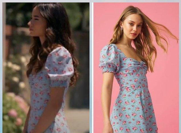 6. Kazara Aşk dizisinin güzel yıldızı Sude Zülal Gürel'in giydiği elbise The Latest Thing.