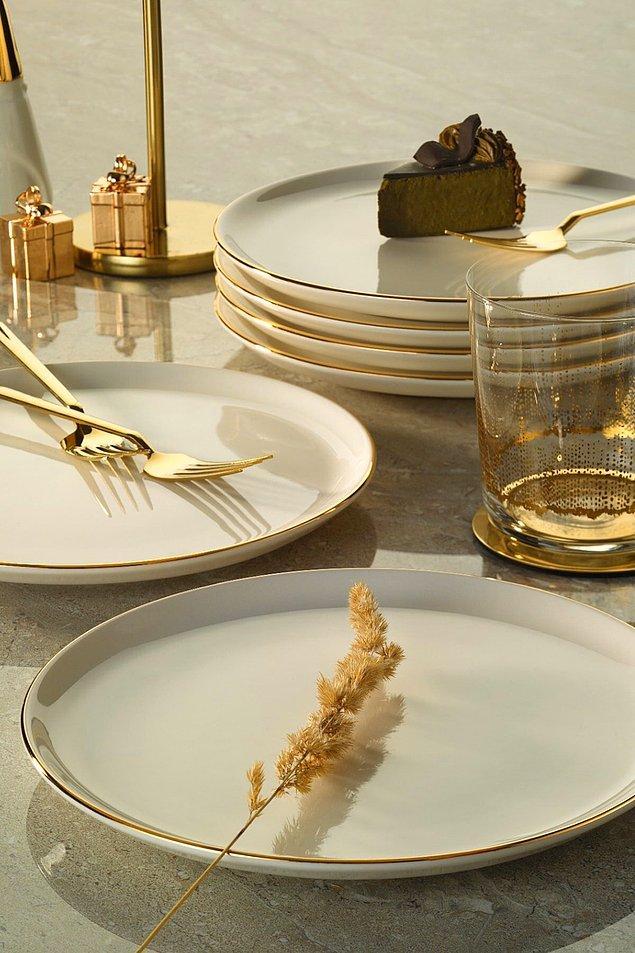 11. Şık restoranlarda görmeye alışkın olduğumuz ve çok sevdiğimiz tabakların aynısı.