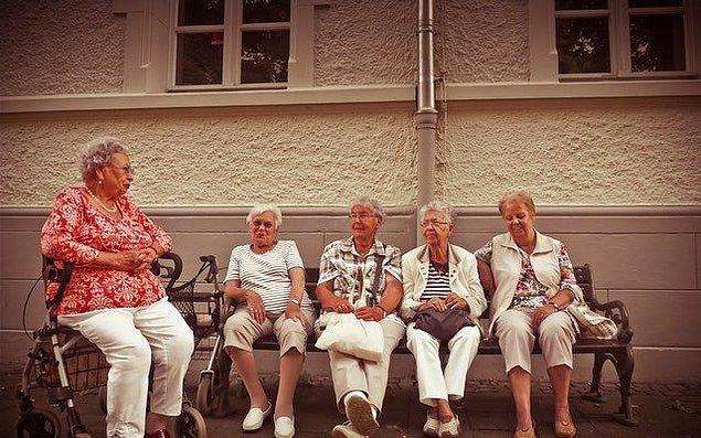 11. İtalya, Avrupa'nın en yaşlı nüfusuna sahip ülkesi.
