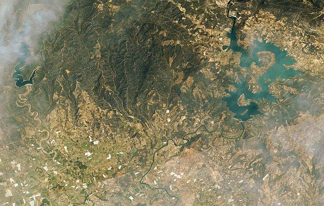 Manavgat'ın Göktürk Uydusu ile uzaydan çekilmiş görüntüleri 👇