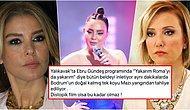 Berna Laçin'in Ebru Gündeş'in Söylediği Şarkıya Tepki Göstermesi Gülben Ergen'le Arasında Tansiyonu Artırdı