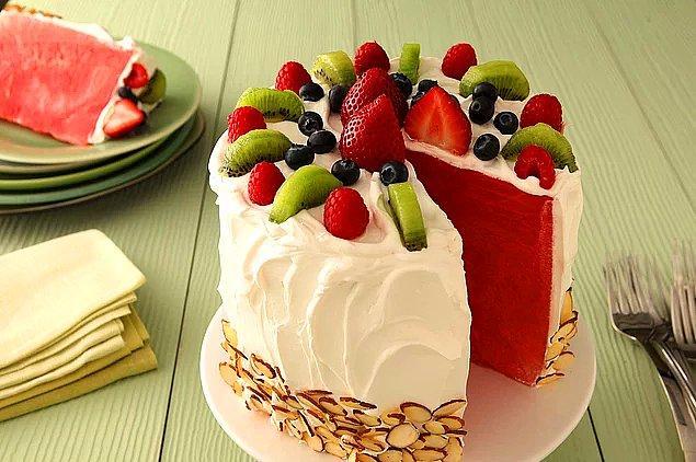 6. Karpuz Pasta Tarifi: