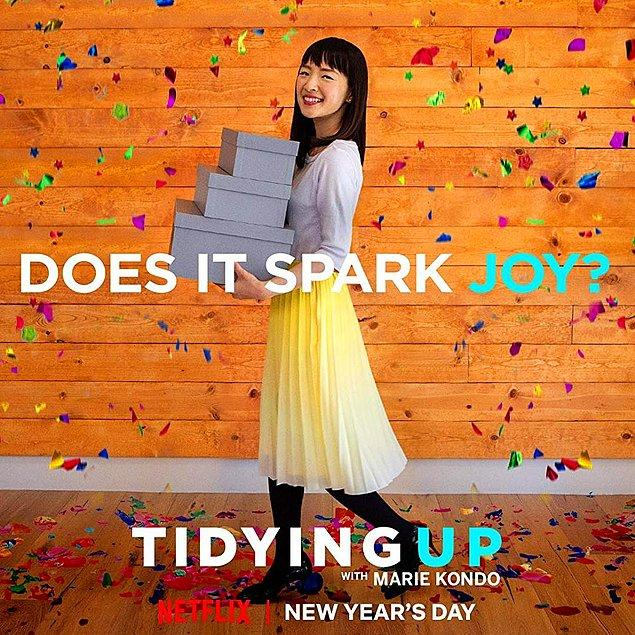 8. Sparking Joy With Marie Kondo / Yeni Dizi / 31 Ağustos
