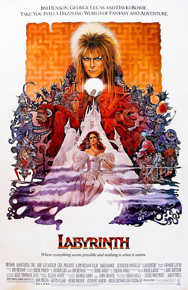 28 Ağustos 21.30 - Labyrinth (Labirent)