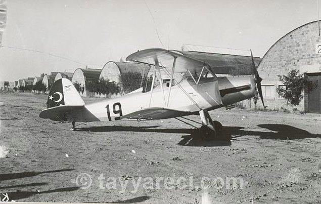 5. Gotha 145-A İrtibat Uçağı (1939'a kadar 43 tane üretilir.)