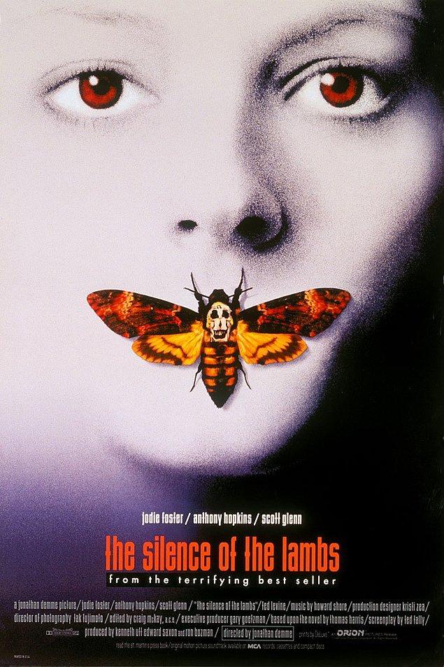 1. En İyi Film Oscar'ını kazanan ilk ve tek gerilim filmi: Kuzuların Sessizliği (1991)