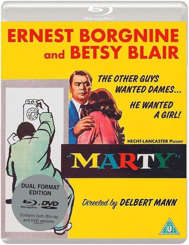 7. Bir televizyon filmi (veya mini dizi) kaynaklı olup En İyi Film Oscar'ını kazanan ilk ve tek film: Marty (1955)
