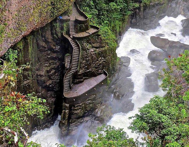 6. Kanyon Merdiveni, Ekvador