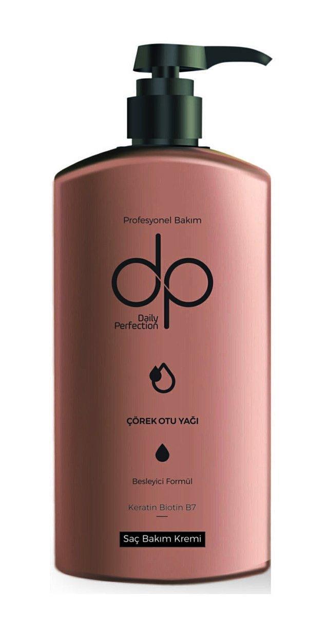 9. DP ile saçlarınızı çörek otu yağıyla besleyin...