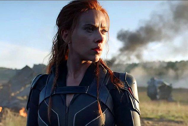 5. Black Widow - Hafta sonu izlenme: 13.088