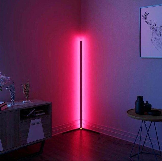 7. Lambader bir evin en güzel aydınlatma ürünü olabilir.