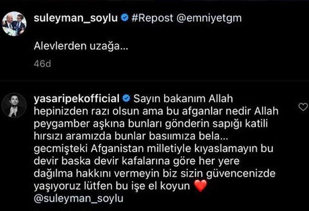 5. Yaşar İpek'in İçişleri Bakanı Süleyman Soylu'ya yaptığı yorum gündem oldu!