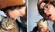 Владельцы проверили реакцию своих питомцев на неожиданные поцелуи и вот 20 самых забавных из них