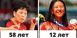 25 самых юных и самых возрастных спортсменов на Олимпиаде в Токио