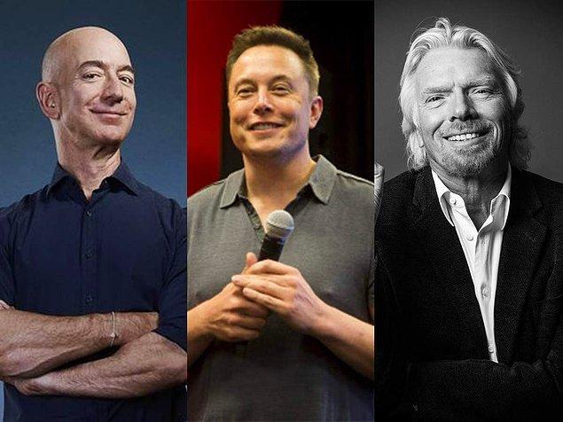 Yaşanan bu gelişmelerle beraber, Richard Brason'a ek olarak Jeff Bezos ve Elon Musk gibi gözlerini uzaya dikmiş milyarderlerin de etkisiyle uzay turizminin yavaş yavaş harekete geçeceği düşünülüyor.