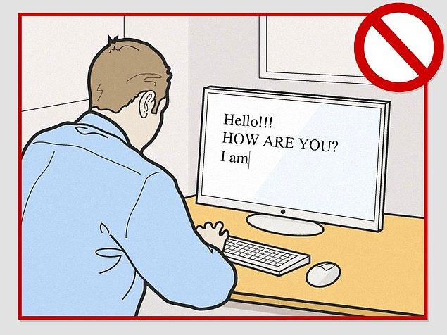 5. Birine mail atarken önce uygun bir dille selam verip kendinizi tanıtın, ardından derdinizi anlattıktan sonra doğru bir üslupla maili sonlandırın.