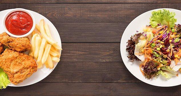 9. Vejetaryen, vagon olan ya da sağlıklı beslenenlere onların tüketmediği şeyleri yemeleri için gereksiz ısrarda bulunmayın.