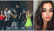 İki Çapkın İsim Yeniden Birlikte mi? Hakan Sabancı ve Model Elif Aksu Beşiktaş Maçında Görüntülendi