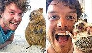 17 самых милых и позитивных фотографий парня с экзотическими животными, которых он встречал