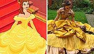 Девушка стала интернет-хитом, воссоздавая платья принцесс Диснея, Барби и других вселенных (15 фото)