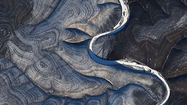 4. Rusya'nın kuzeyindeki Markha Nehri, 29 Ekim 2020